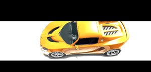 3d model elise sport car