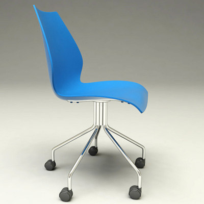 maui chair designer 3d 3ds