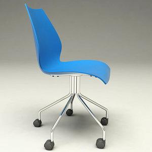 maui chair designer 3d 3ds
