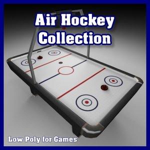 air hockey 3d model