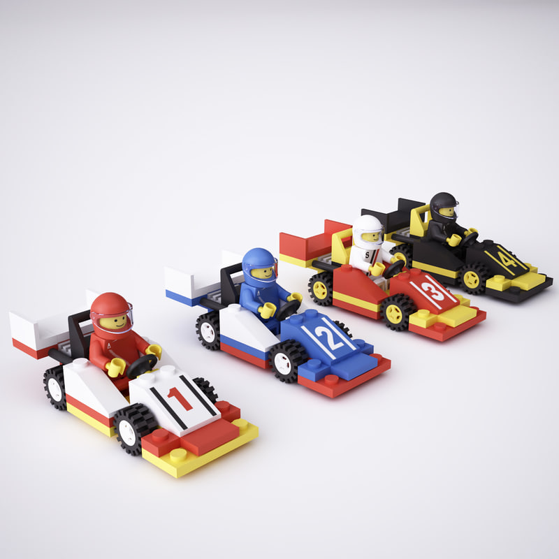 Model Lego Race Cars