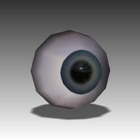 3dsmax human eye