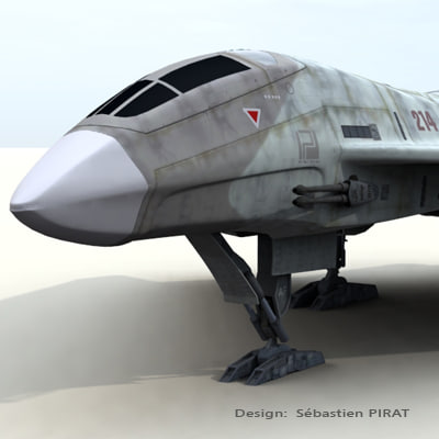 3ds max fighter