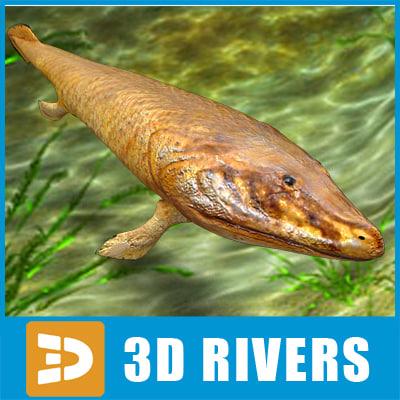 maya tiktaalik prehistoric fish