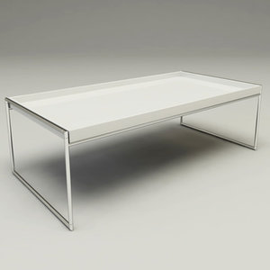 3d model trays tables