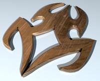 3d tribal model
