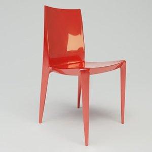 3d model heller chair design mario bellini