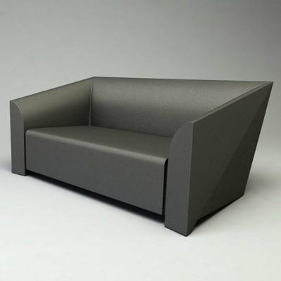 mb2 sofa design c4d