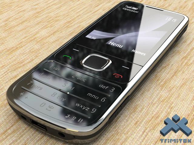 3d nokia 6700 classic mobile phone model