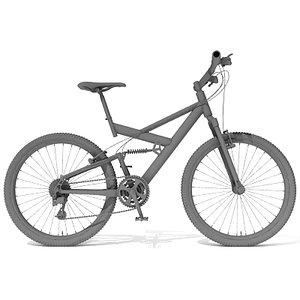 3d max mountain bike