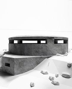3dsmax bunker