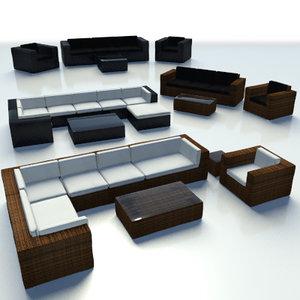 set furniture loungegrupp max