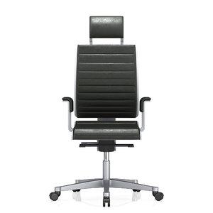 3d armchair wilkhahn solis