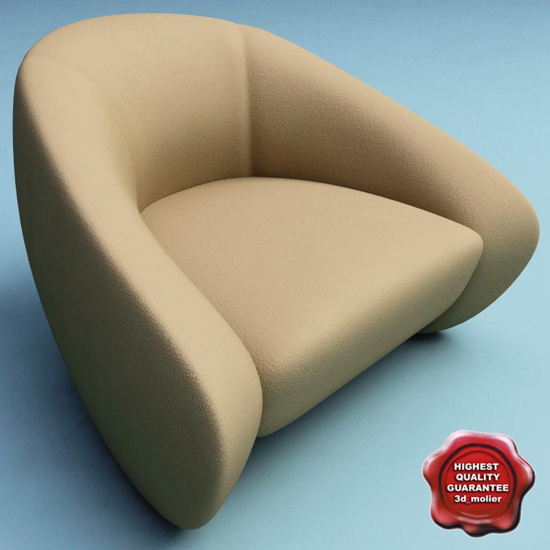 armchair v5 3d model