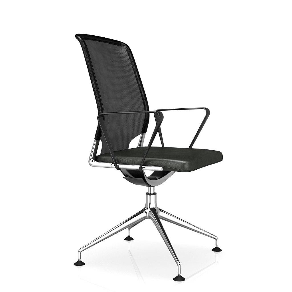 3d 3ds office armchair vitra meda