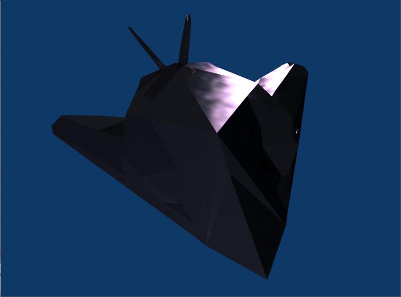 lockheed f-117 3d 3ds