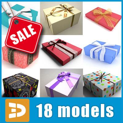 3d model gift wrap
