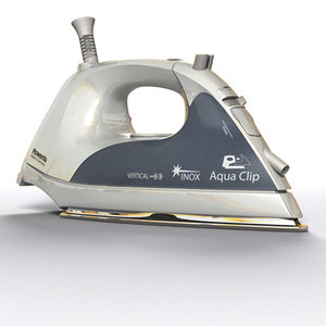 3d rowenta iron
