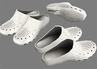 nurse shoe 3d max