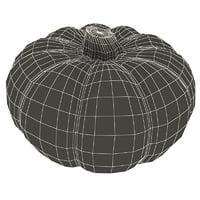 pumpkin modelled 3d 3ds