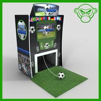 arcade soccer 3d model