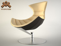 max lobster chair seamless leather
