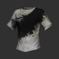 t-shirt shirt 3d model