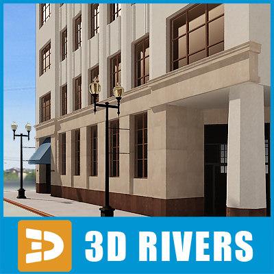 3d model of apartment building