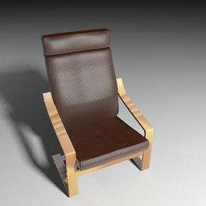 3d designer chair