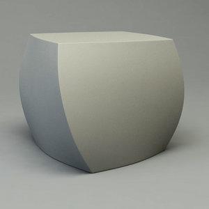 frank gehry cubes twist 3d c4d