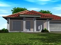 3dsmax medium house