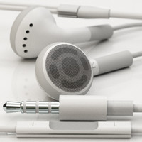 3d apple earphones remote mic model