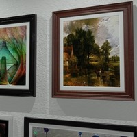 paintings picture frames 3d max