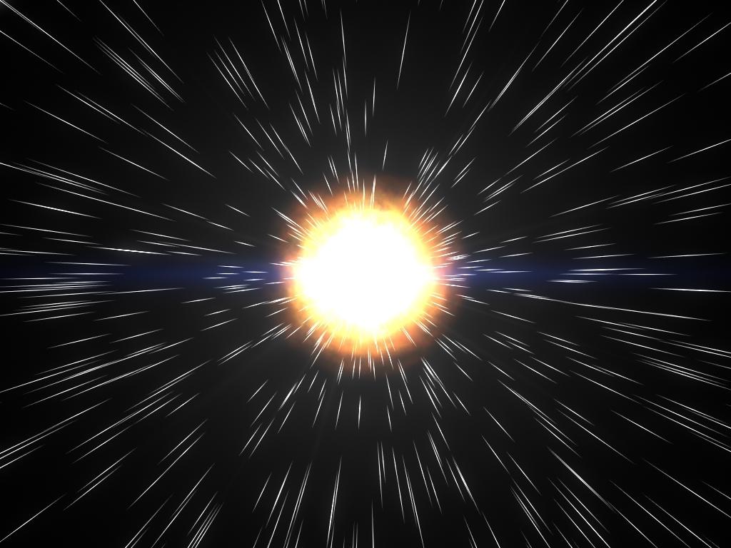 explosion blast 3d model