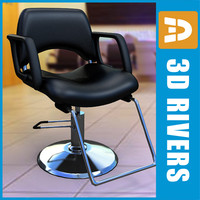 3ds salon chair