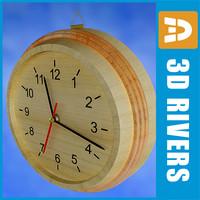 max sauna clock