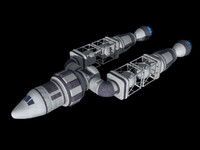 3dsmax spaceship