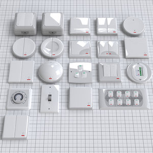 3ds max electrical switches