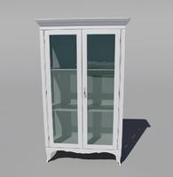 3d classic cupboard buffet model