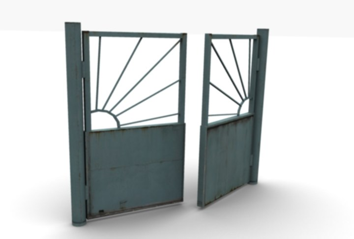 3ds factory gate