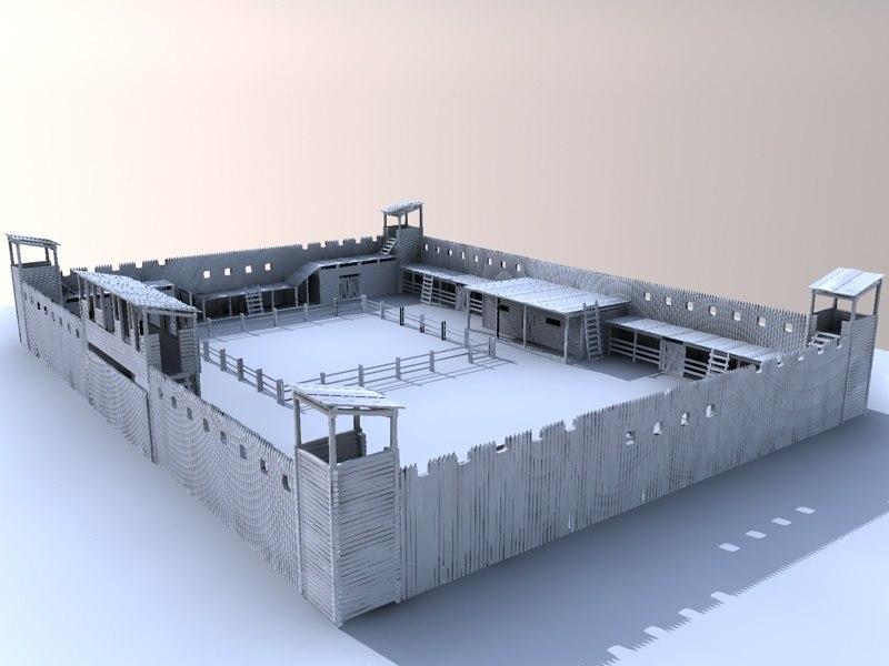 old fort 3d 3ds