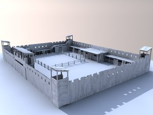 old fort 3d 3ds