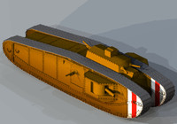 tank ww1 3d 3ds