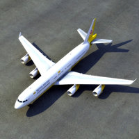 airbus a340 royal brunei 3ds