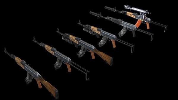 3d akm s weapons
