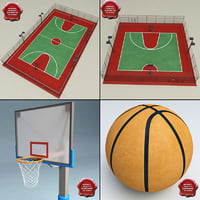 maya basketball modelled