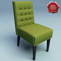 classic chair 3d model
