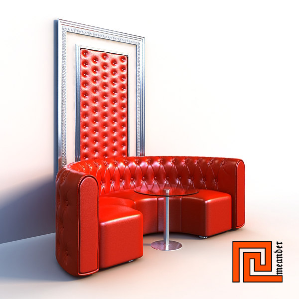 c4d furniture set