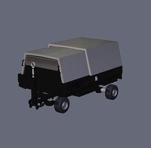 ground houchin 3d model