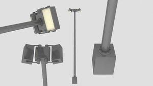 lampost 3d model